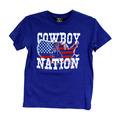Youth Cowboy Nation Vintage Short Sleeve Tee