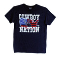 Youth Cowboy Nation Vintage Short Sleeve Tee