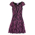 Youth Cap Sleeve Lace Dress