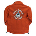 Youth Bull Rider For Life Poly Shell Jacket