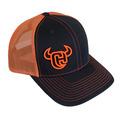 Cowboy Hardware Logo 3D 2-Tone Trucker Snap Back Cap