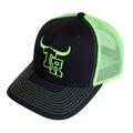 Team Roper 2-Tone Trucker Snap Back Cap