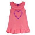 Infant & Toddler Heart Wreath Tank Dress