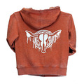 Toddler Drip Skull Solid A/W Full Zip
