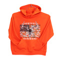 Youth HUNTERS Hardware Camo Skull Flag Pullover