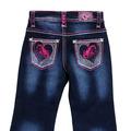 Infant/ Toddler Girls Horse Heart Jean