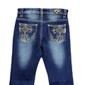Youth Girls Big Cross Jean