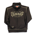 Toddler Cowboy Full Zip Cadet