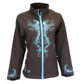Swirl Poly Shell Jacket