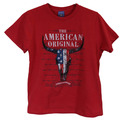 YTH The American Original S/S Tee, Vtg Red
