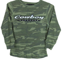 YTH Classic Cowboy L/S Camouflage Thermal, Camouflage