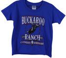 YTH Buckaroo Ranch 2013 S/S Tee, Royal Blue