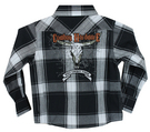 INF/TOD Built Cowboy Tough L/S Plaid, Black