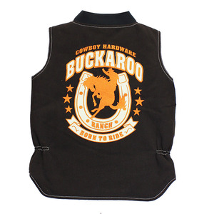 Youth Buckaroo Canvas Vest picture