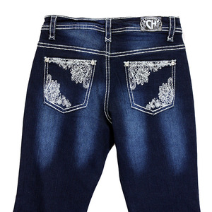Youth Girls Lace Pocket Jean picture