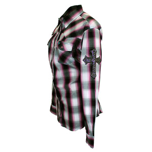 Hombre Long Sleeve Plaid picture