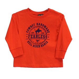 Youth Fearless Bull Rider Long Sleeve Tee picture