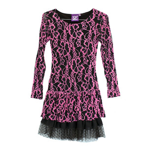 Youth Lace Long Sleeve Dress picture