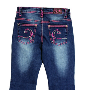 Infant/ Toddler Swirl Horse Jean picture