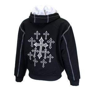 All Over Cross Canvas Jacket picture