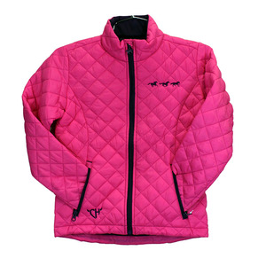 Youth Running Horses Quilted Jacket picture