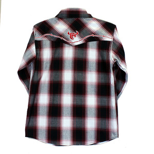 Youth Hombre Long Sleeve Plaid picture