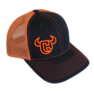 Cowboy Hardware Logo 3D 2-Tone Trucker Snap Back Cap picture