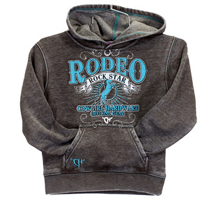 Youth Rodeo Rock Star Solid Pullover picture