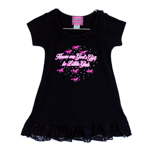Infant & Toddler God's Gift Lace Dress picture