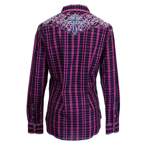 Tonal Cross Long Sleeve Plaid picture