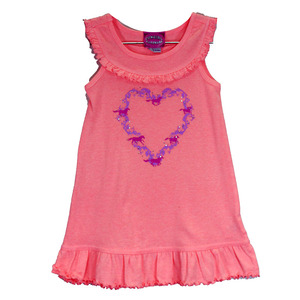 Infant & Toddler Heart Wreath Tank Dress picture