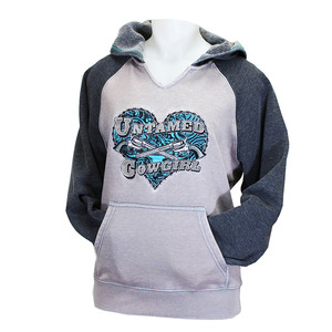 Untamed Cowgirl Raglan Pullover picture