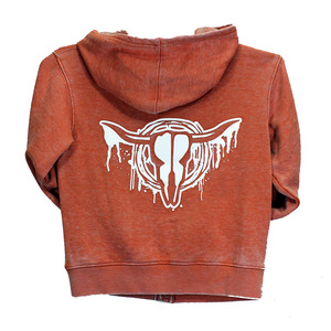 Toddler Drip Skull Solid A/W Full Zip picture