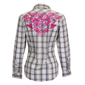Rose Vine Long Sleeve Plaid picture