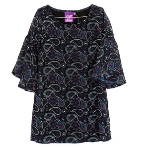 Youth Paisley Print Dress picture