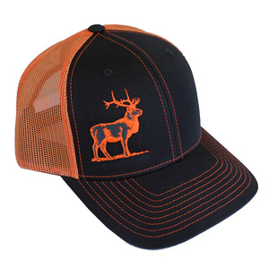 HH Lone Elk 2-Tone Trucker Snap Back Cap picture