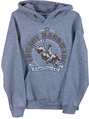 INF/TOD Toughest 8 Seconds Pullover, Grey Heather