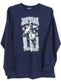 INF/TOD American Bull Rider L/S Tee, Navy