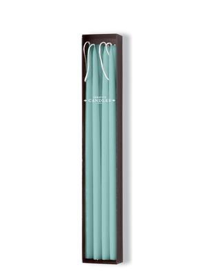 "Taper Candles 12"" Thin - Aquamarine - 8/box picture"