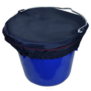 Horse Spa Grand Prix Bucket Top LG 5Gal Navy w Burgundy Trim picture