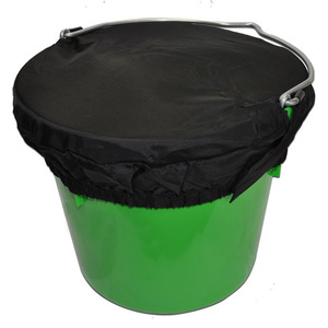 Horse Spa Basic Bucket Top LG 5Gal Black picture