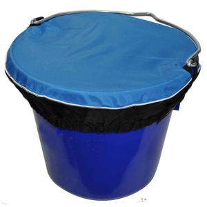 Horse Spa Colored Bucket Top LG 5Gal Sky Blue picture