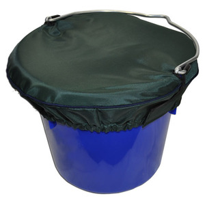 Horse Spa Grand Prix Bucket Top LG 5Gal Hunter w Navy Trim picture