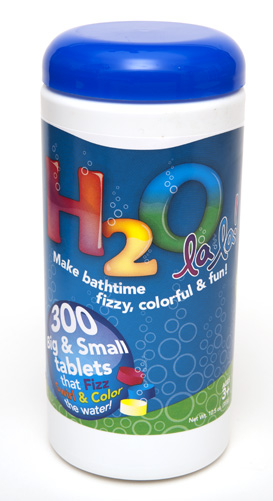 H2O La La! tall jar • 300 Tablets picture