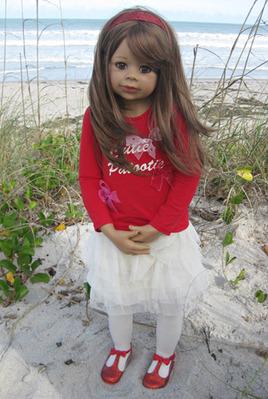 Cutie Patootie by Monika Levenig brunette picture