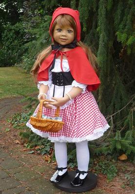 Little Red Riding Hood Rotkäppchen Lt Brn Hair by Monika Levenig picture