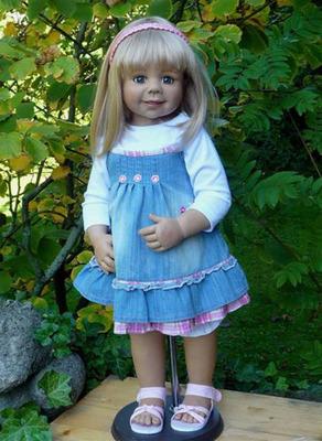 Friday's Child Blonde by Monika Levenig picture