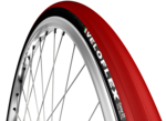 CORSA  CLINCHER RED - 23 mm