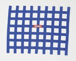 RIBBON WINDOW NET BLUE - NON SFI