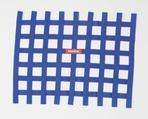 RIBBON WINDOW NET BLUE - NON SFI